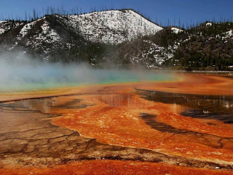 L'ouest américain : Parc National de Yellowstone
