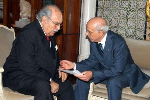 Fouad Mebazaa & Mohamed Ghannouchi