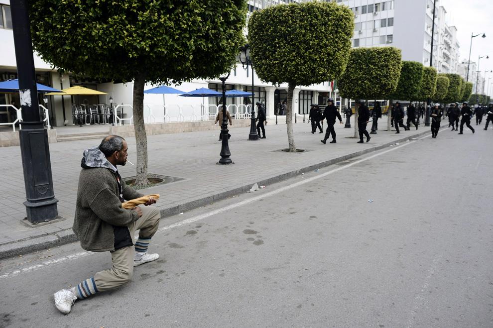 Manifestation, la révolution tunisienne