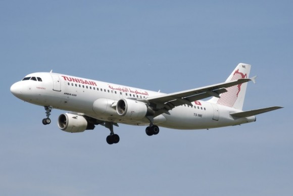 Avion Tunisair Airbus A320