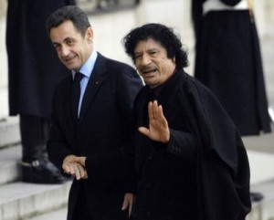 Nicolas Sarkozy &amp; Mouamar Kadhafi