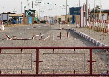 Point de passage-frontalier au niveau du D'hiba
