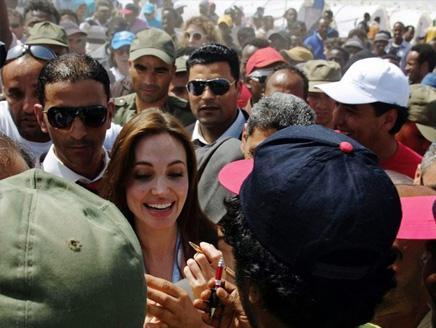 Angelina Jolie en visite en Tunisie