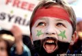 Manifestation de soutien au peuple syrien