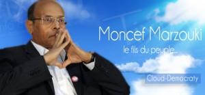 Moncef Marzouki - Cloud Democraty