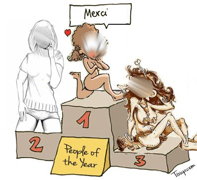 People of The Year - Podium