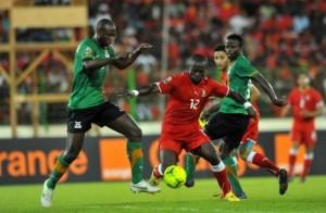 Zambie - Guinee Equatoriale - CAN 2012