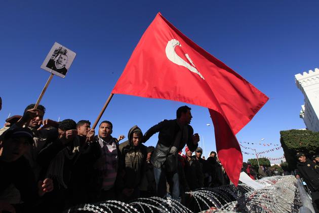 Manifestation Tunisie