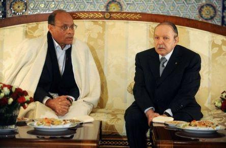 Moncef Marzouki - Abdelaziz Bouteflika