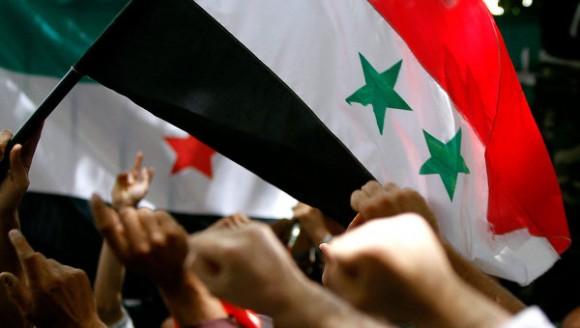 Tunis Syrie - Manifestation