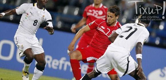 Tunisie - Ghana - CAN 2012 - Youssef Msakni