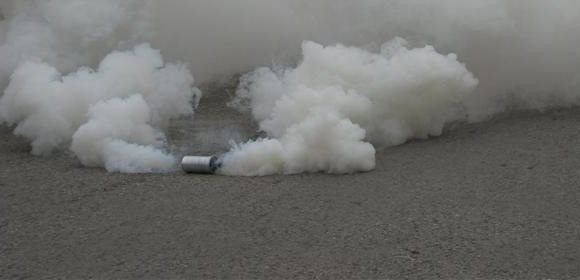 Gaz lacrymogène