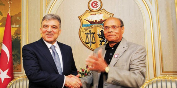 Abdullah Gül - Moncef Marzouki