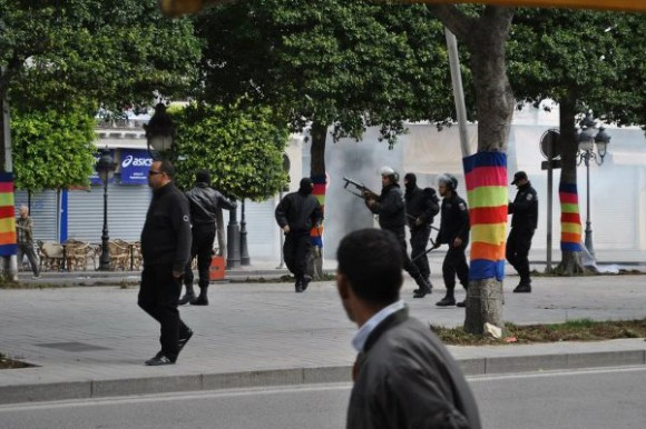 Manifestation 09 Avril 2012