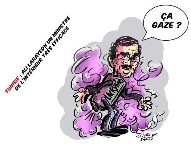 Ali Larayedh - Caricature