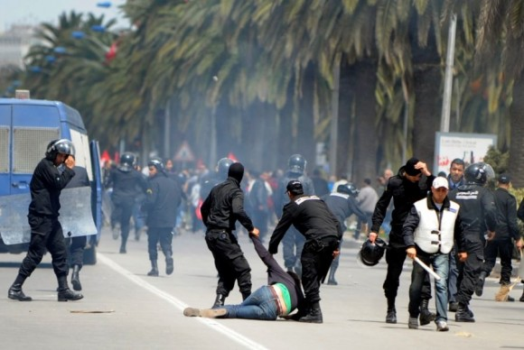 Manifestation 09 Avril 2012 - Tunis