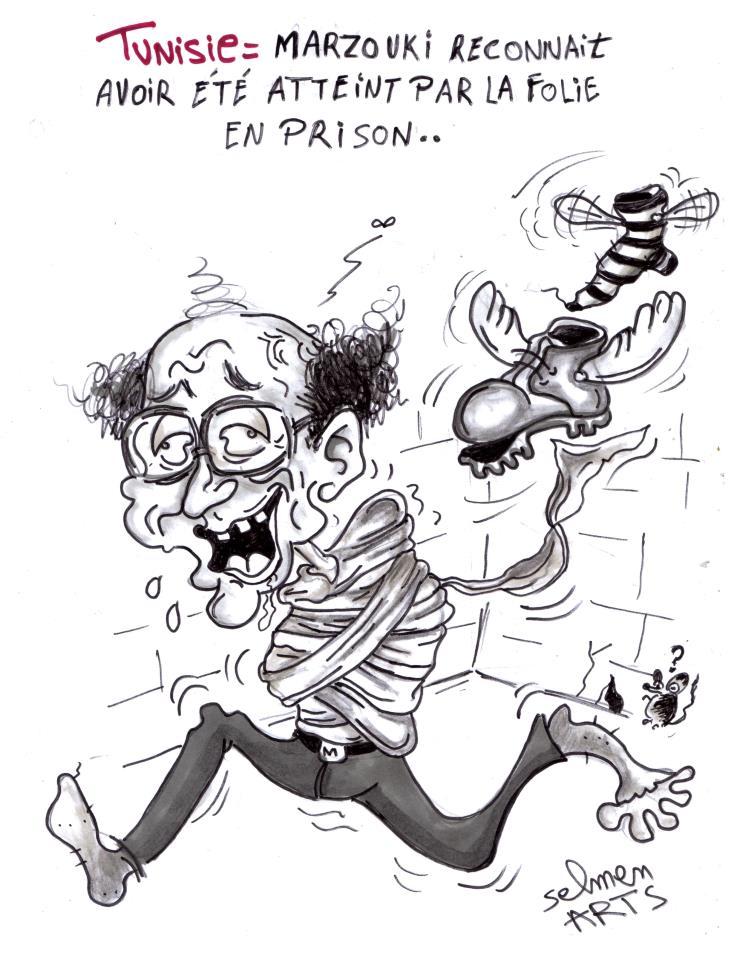 Moncef Marzouki fou