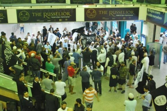 Salafistes aeroport Tunis-Carthage