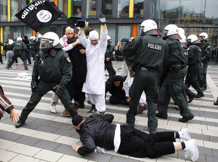 Allemagne Salafistes