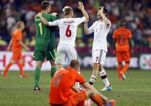 Euro 2012: Pays-Bas - Danemark