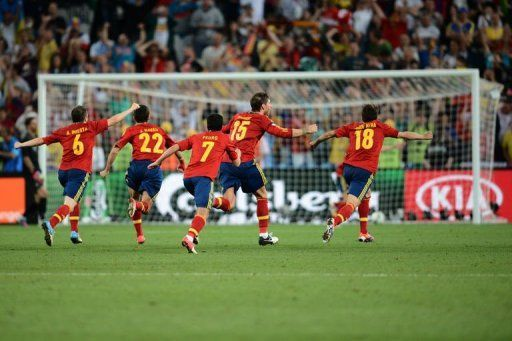 Euro 2012 : Espagne