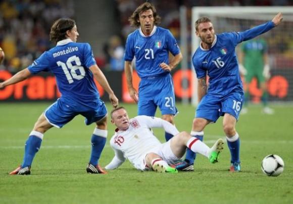 Euro 2012: Italie - Angleterre