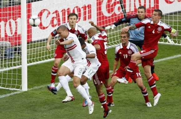 Euro 2012: Portugal - Danemark