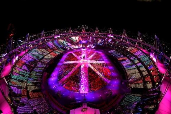 Cérémonie de cloture des Jeux Olympiques