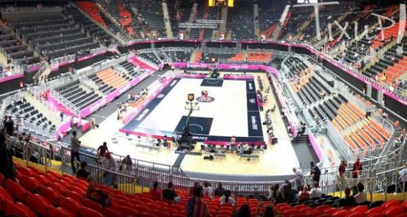 Terrain de Basketball - JO 2012