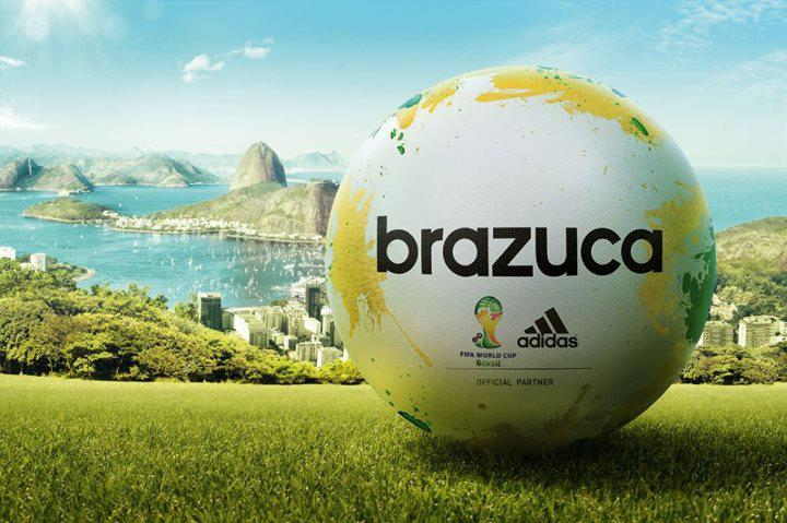 Brazuca, ballon de la Coupe du Monde de Football (Photo)