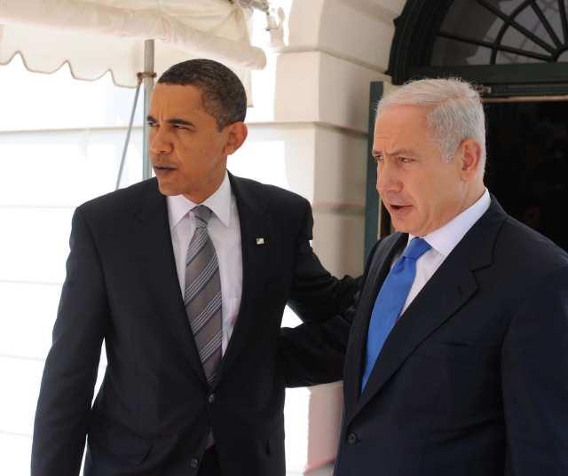 Barack Obama - Benjamin Netanyahu