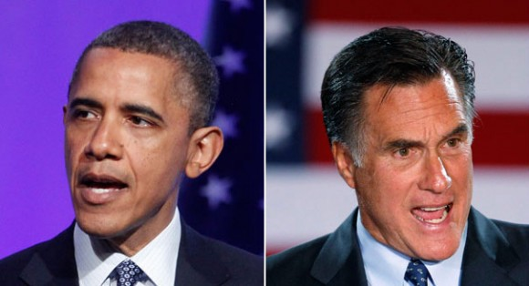 Barack Obama - Mitt Romney