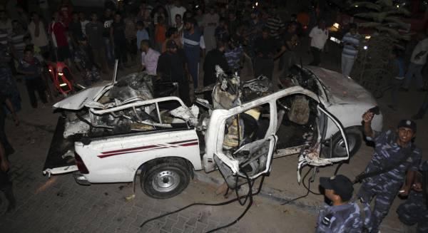 Raid israelien a Rafah - Palestine