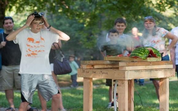 Explosion Pastèque boom