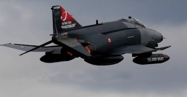 Avion F4 Turquie