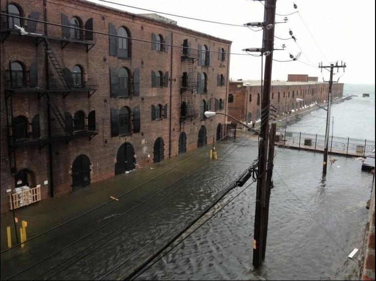 Sandy Ouragan - Brooklyn
