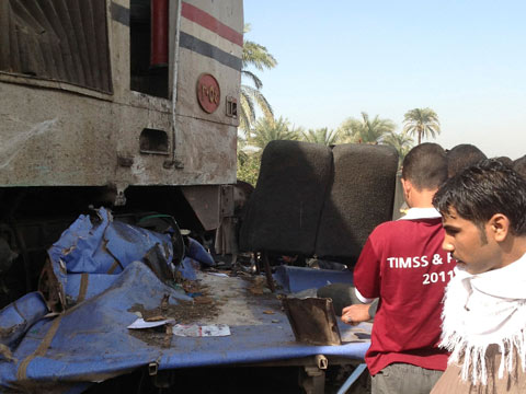 bus crash Égypte - accident