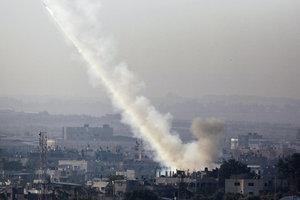 missile Tel Aviv - Gaza Palestine