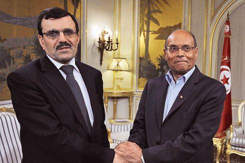 Ali Larayedh - Moncef Marzouki