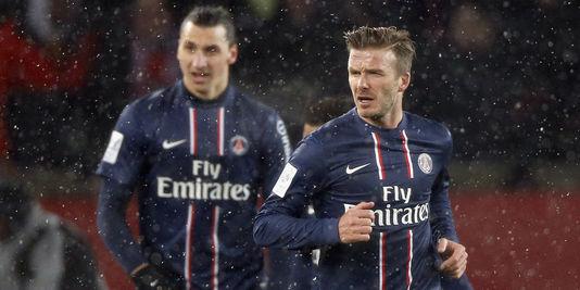 Zlatan Ibrahimovic - David Beckham