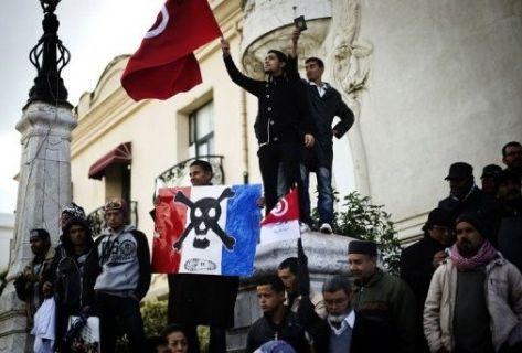 Manifestation des partisans d'Ennahdha