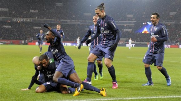 Le Paris Saint-Germain sacré Champion de France