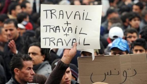 La Tunisie enregistre 653.000 chômeurs