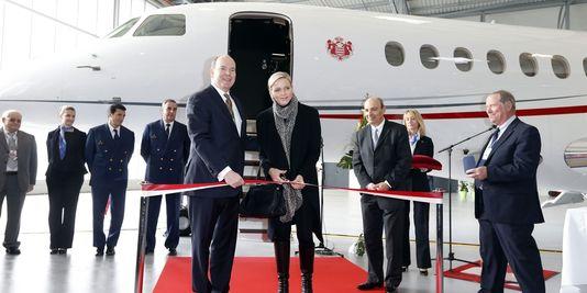 Prince Albert II de Monaco et son épouse Charlène