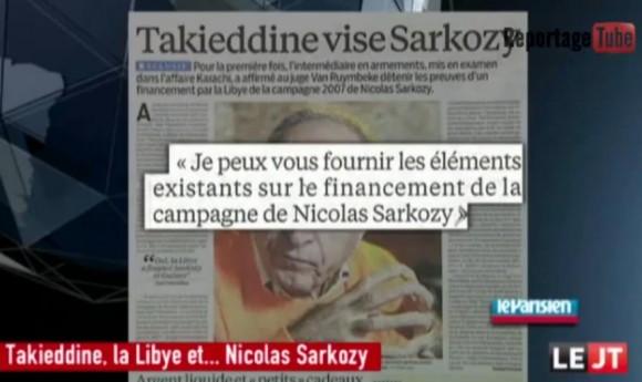 Affaire financement libyen
