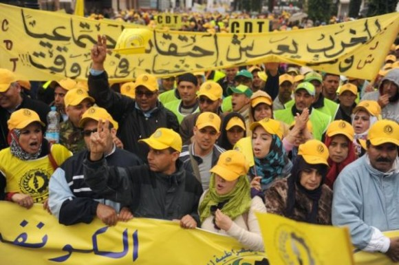 Manifestation au Maroc - Dimanche 31 Mars 2013
