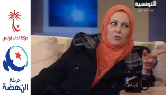 Raja Haj Mansour entre Nidaa Tounes et Ennahdha