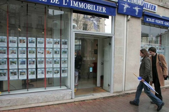 Agence d'immobilier