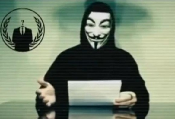 Anonymous menace le gouvernement tunisien