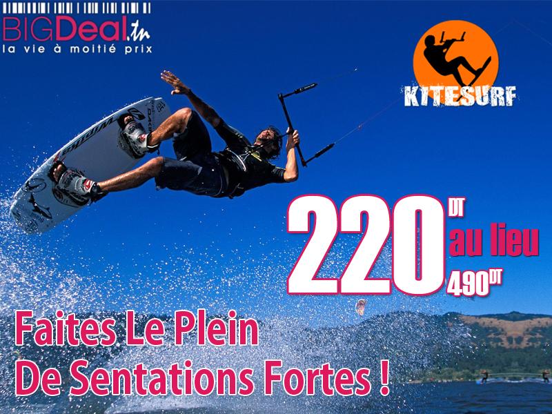 Kite-Surf sur BigDeal
